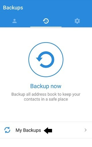 Backups online can transfer these easily